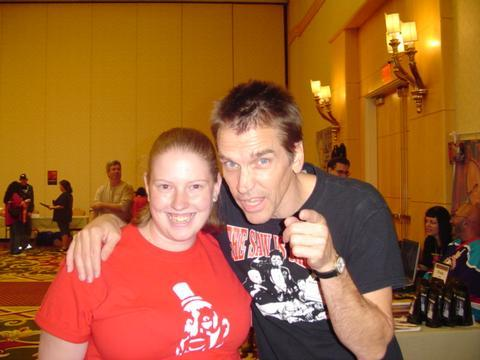 Sarah with Bill Moseley